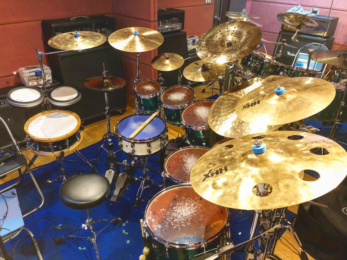 【使用機材】ドラムセット YAMAHA Absolute Hybrid Maple